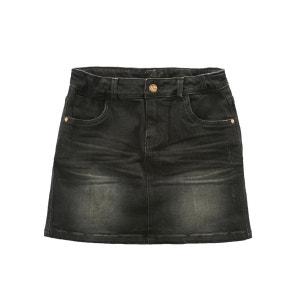 Jupe courte en jean R essentiel