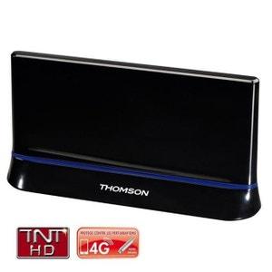 THOMSON 00131917 - Antenne intérieure HDTV LTE / 4G Gain de 43dB THOMSON