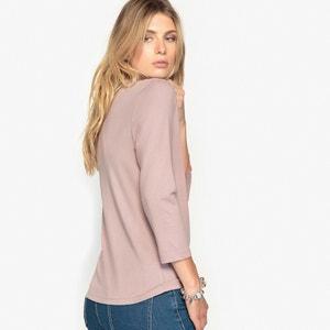 T-shirt z bawełny i modalu ANNE WEYBURN