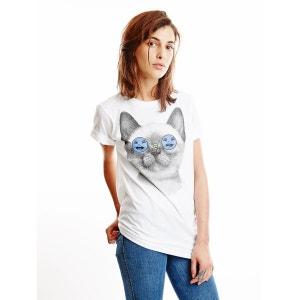 T-shirt à manches courtes Beeware T. Blanc WOWCH