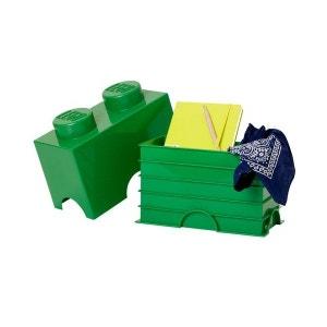 Boîte lego rangement 2 plots  foncé LEGO