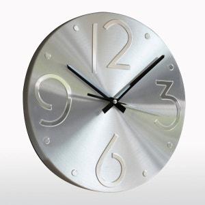 Reloj de aluminio cepillado, Kopi La Redoute Interieurs