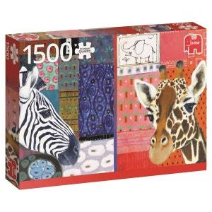 Puzzle 1500 pièces - Eugen Stross, Art Africain JUMBO