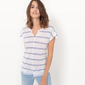 Short-Sleeved Striped T-Shirt LE TEMPS DES CERISES