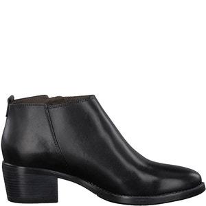 Boots cuir Lisanne TAMARIS