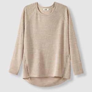 Pullover mit rundem Ausschnitt und Pailletten MOLLY BRACKEN