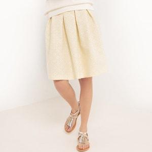 Jupe longueur genou, jupe évasée, floral MADEMOISELLE R