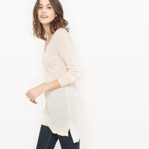 Pullover, V-Ausschnitt, fliessendes Material R essentiel