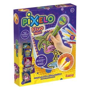 Kit créatif Pixelo Fluo Néon LANSAY
