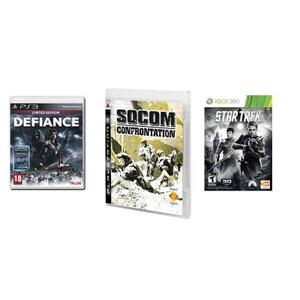 Pack de 3 jeux 100% action - PS3 NONAME