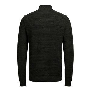 Pullover aus Grobstrick, Stehkragen JACK & JONES