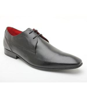 Sapatos estilo derbies em pele, com atacadores BASE LONDON