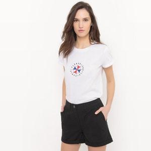 T-shirt com mensagem La Redoute Collections