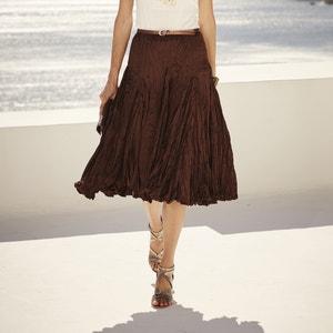 Jupe ample plissée froissée, long. 70 cm ANNE WEYBURN