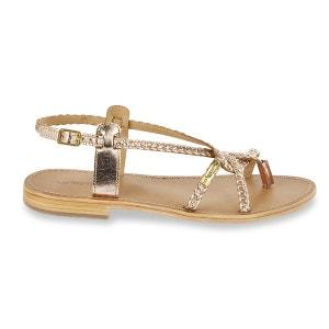 Sandales cuir tressé Bahamas LES TROPEZIENNES par M BELARBI