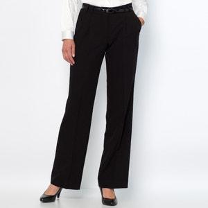 Pantalón de pinzas, confort stretch ANNE WEYBURN