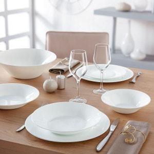 Service de table motif blanc 19 pièces Epona LUMINARC