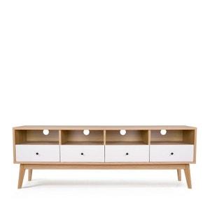 Meuble TV design scandinave 4 tiroirs Skoll DRAWER