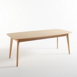 Mesa de comedor, roble 8 comensales, Biface La Redoute Interieurs