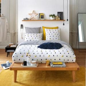 Linge de lit en solde la redoute - La redoute housse de couette bicolore ...