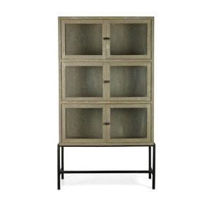 vitrine bois et verre la redoute. Black Bedroom Furniture Sets. Home Design Ideas