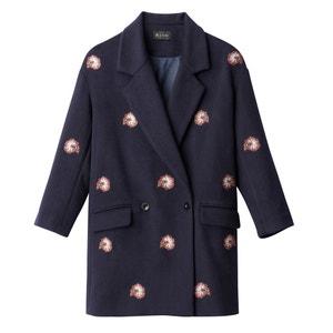 Пальто с вышивкой La Redoute Collections