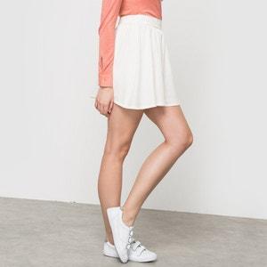 Krótka spódnica poszerzana COLOR BLOCK