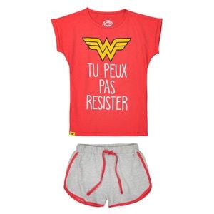 Pijama con short 10-16 años DC COMICS