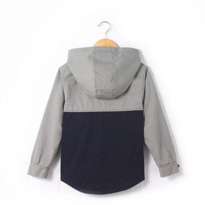 Bicolor jasje met kap abcd'R