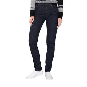 Slim jeans met hoge taille ESPRIT