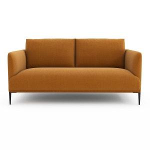 Sofá compacto de lino, Oscar diseño de E. Gallina