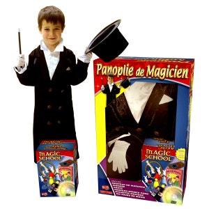 Magie : Panoplie de magicien 5/7 ans avec DVD OIDMAGIC