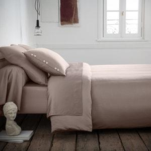 Bettbezug, Baumwollsatin, uni La Redoute Interieurs