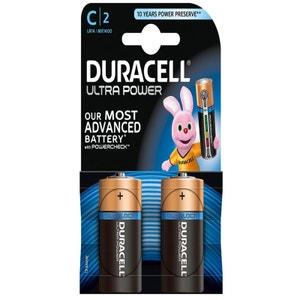 Piles bâtons DURACELL C B2 ULTRA POWER DURACELL