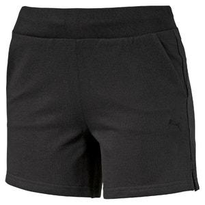Shorts sportivi tinta unita W ESS SHORT.BLK PUMA