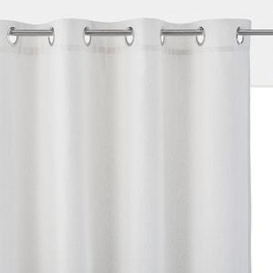Taïma Linen/Cotton Blend Single Eyelet Blackout Curtain La Redoute Interieurs