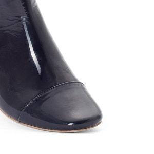 Boots cuir verni Ame JONAK