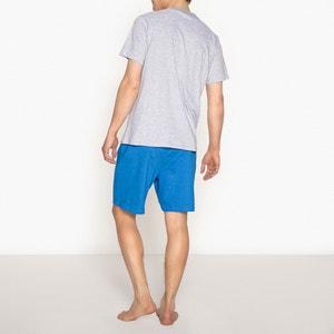Pijama con short de algodón, estampado Gaston Lagaffe GASTON LAGAFFE