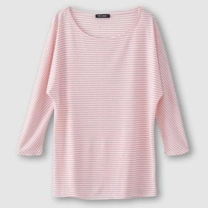 Gestreiftes T-Shirt, weich fliessend La Redoute Collections