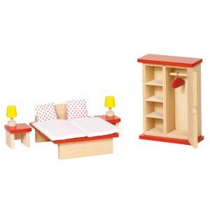 Maison de poupées : Mobilier chambre à coucher GOKI