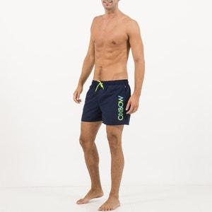 Calções de banho estampados, detalhes fluorescentes, Volley Varello OXBOW