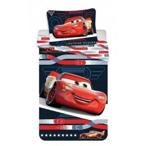 Cars Disney Star - Parure de Lit Enfant - Housse de Couette Voiture DISNEY CARS