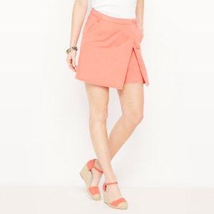 Jupe-short, coton stretch ANNE WEYBURN