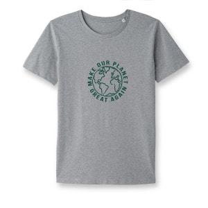 Tee-shirt message, issu de l'agriculture biologiqu La Redoute Collections