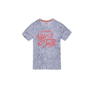 Tee-shirt TUVER MC JR Gris Chiné TEDDY SMITH