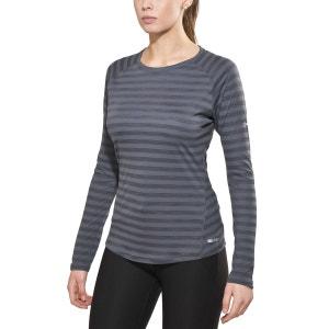 Stripe - T-shirt manches longues Femme - gris BERGHAUS