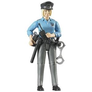 Bruder 60430 blonde Policière Avec Accessoires BRUDER