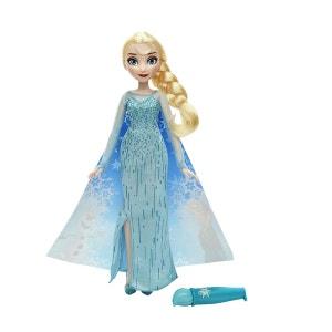 Poupée La Reine des Neiges (Frozen) : Elsa cape féérique HASBRO
