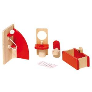 Maison de poupées : Mobilier salle de bain GOKI