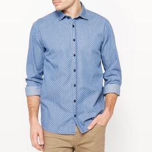 Straight Cut Chambray Shirt R édition